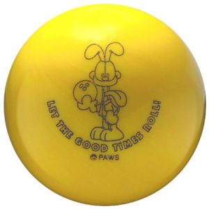 Bowlingball , Bowlingkugel Ebonite ODIE YELLOW platz 4