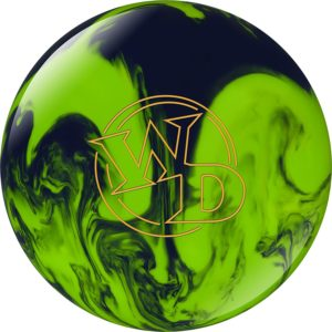 Bowlingball Columbia 300 White Dot Lime Slime Polyester (12 Pfund) platz 5